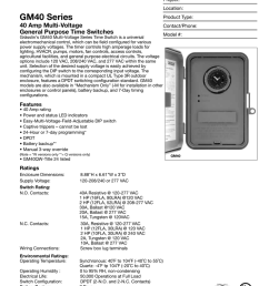 gm40 series electromechanical time switches project location gm40 series product type 40 amp multi voltage general purpose time switches gr sslin s gm40  [ 791 x 1024 Pixel ]