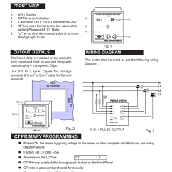 Ct Meter Panel Wiring Diagram Mitsubishi Pajero For Radio Lt Ac Three Phase Four Wire Mounted Static Kwh