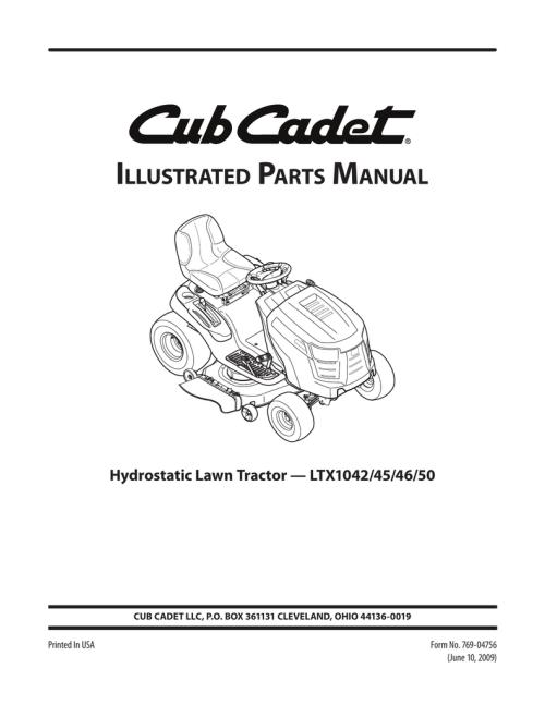 small resolution of cub cadet ltx 1042 wiring diagram cub cadet sltx 1054 2009 cub cadet sltx 1054 cub