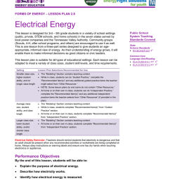 lesson plan 2 8 electrical energyelectrical circuit lesson plan 5th grade 8 [ 791 x 1024 Pixel ]