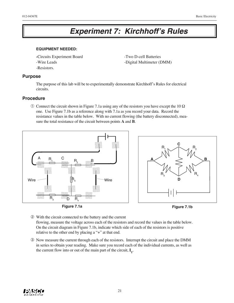 medium resolution of diagram of experiment 7 schema wiring diagram diagram of experiment 7