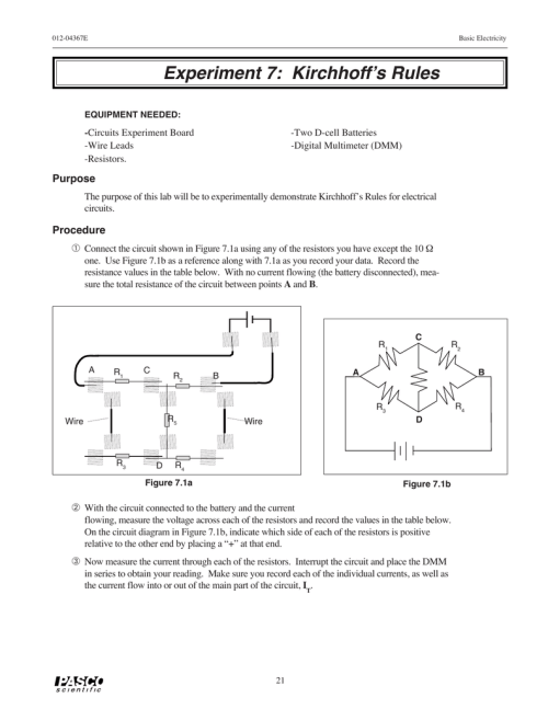 small resolution of diagram of experiment 7 schema wiring diagram diagram of experiment 7