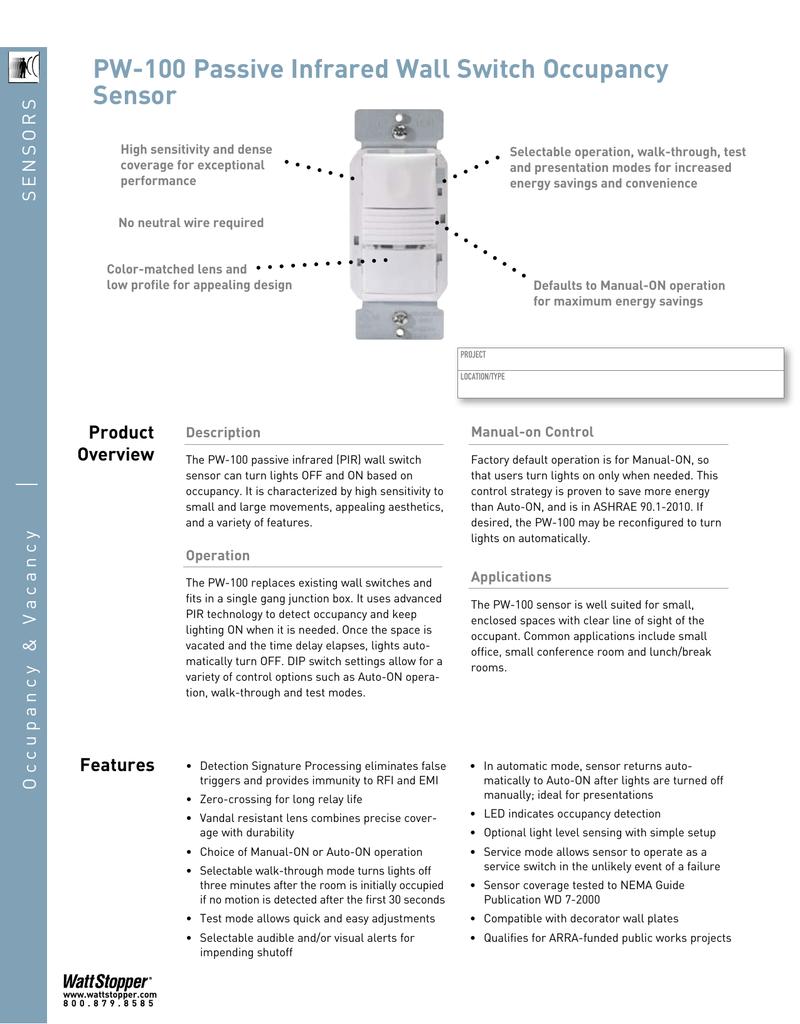 hight resolution of wattstopper wiring diagram