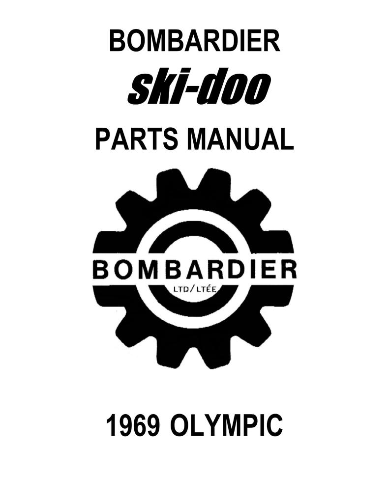1969 Olympic SS, TNT Parts List
