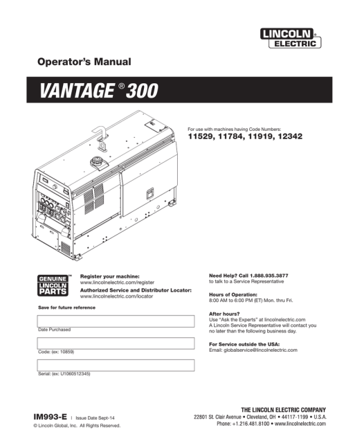 small resolution of lincoln vantage 300 wiring diagram wiring diagram perfomance lincoln vantage 300 wiring diagram