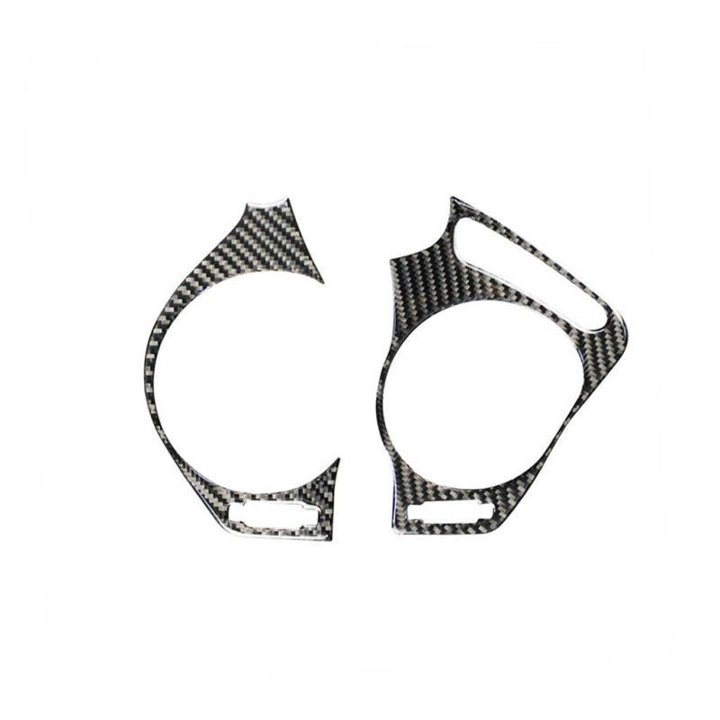 2pcs Carbon Fiber Side Air Vent Outlet Cover Trim Fit