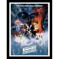 Star Wars The Empire Strikes Back - One Sheet - Framed ...