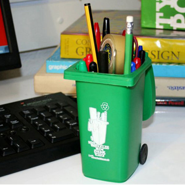 Wheelie Bin Desk Tidy IWOOT