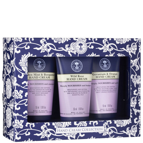 NealS Yard Remedies Hand Cream Collection 3X50ml Free