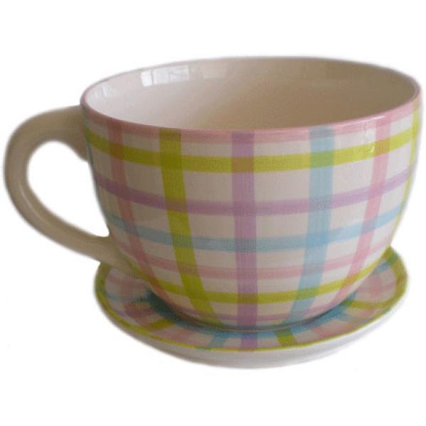 large tea cup and saucer planter k