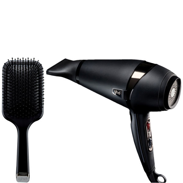 ghd Air Hair Dryer and Paddle Brush  Free Shipping  Lookfantastic