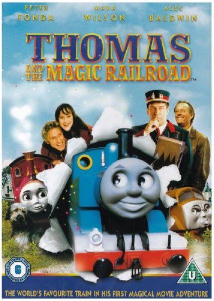 Thomas the Tank Engine  Magic Railroad DVD  Zavvicom