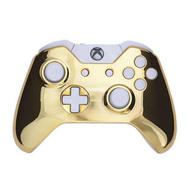 White And Gold White And Gold Xbox One Controller