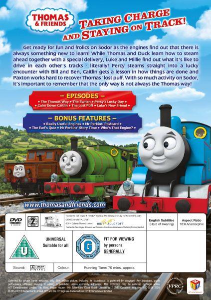 Thomas The Tank Engine The Thomas Way DVD Zavvi