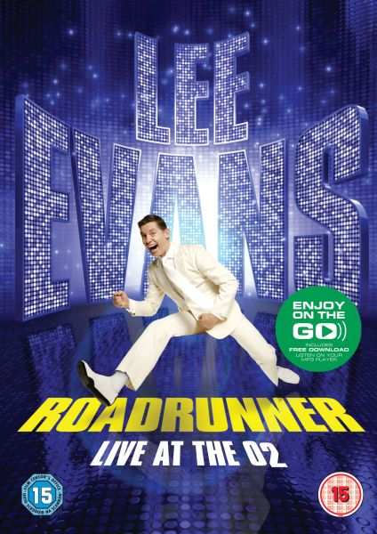 Lee Evans Roadrunner  Live at The O2 Includes MP3 Copy