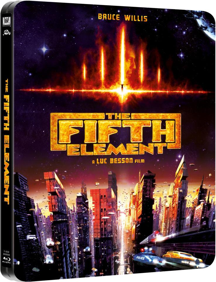 The Fifth Element  Limited Edition Steelbook Bluray  Zavvi