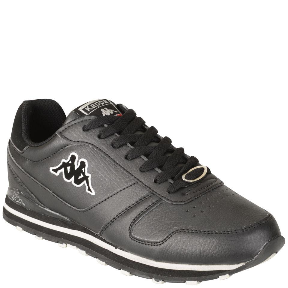 Kappa Mens Larem Trainers  Black Mens Footwear  TheHutcom