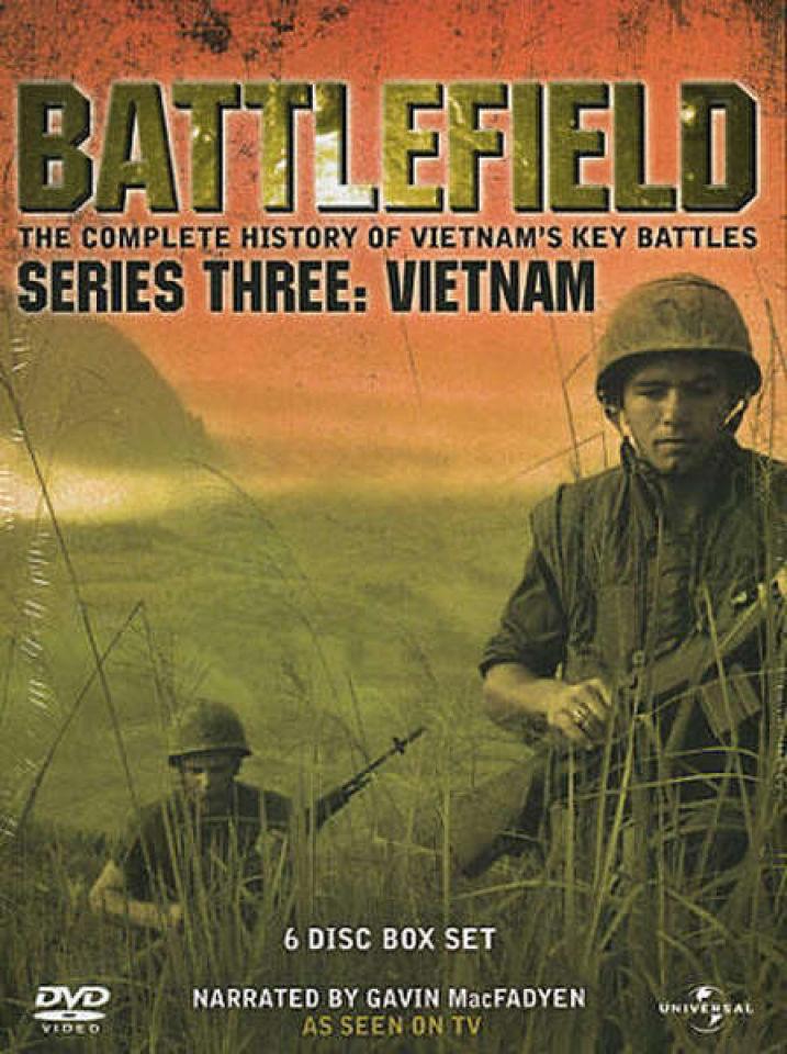 Battlefield  Series Three Vietnam DVD  Zavvi