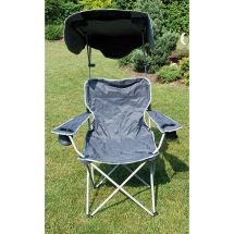 Quik Shade Canopy Chair - Grey Iwoot
