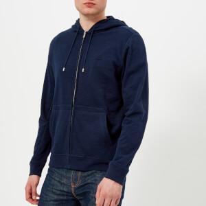 Lacoste Men's Zipped Hoody - Navy Blue