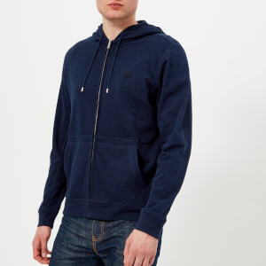Lacoste Men's Zipped Hoody - Navy Blue