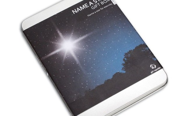 Name A Star Gift Box Unique Gifts Thehut