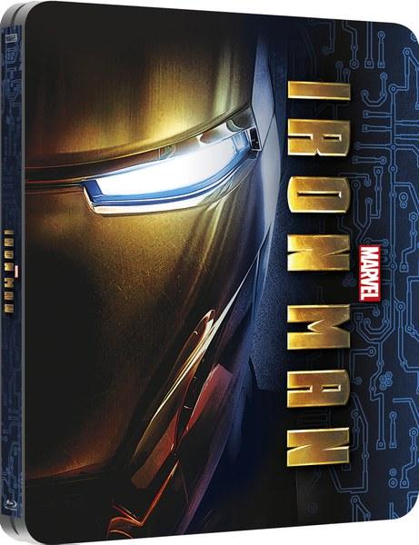 Iron Man  Zavvi Exclusive Lenticular Edition Steelbook