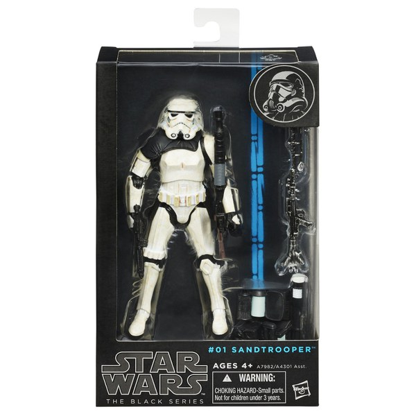 Star Wars The Black Series Sandtrooper 6 Inch Action