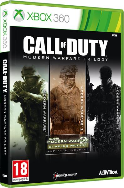 Call Of Duty Modern Warfare Trilogy Xbox 360