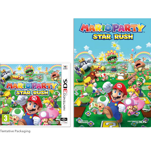 Mario Party: Star Rush + Notebook: Image 01