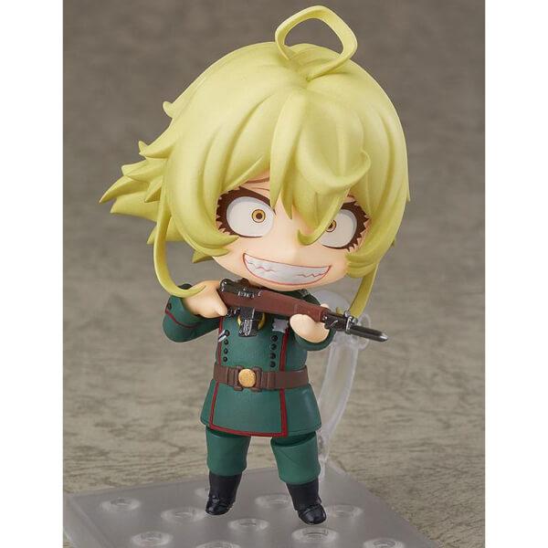 Saga Of Tanya The Evil Nendoroid Tanya Degurechaff 10cm Action Figure Merchandise Zavvi