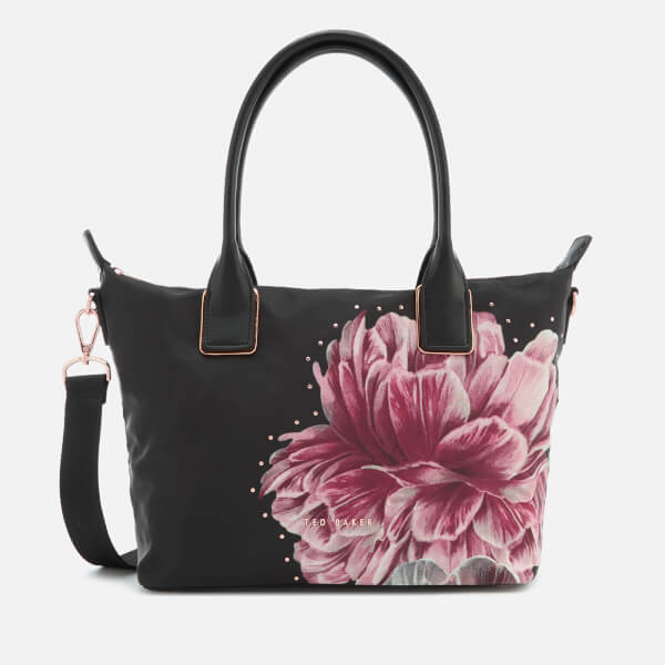 Ted Baker Women's Llisa Tranquility Small Nylon Tote Bag - Black