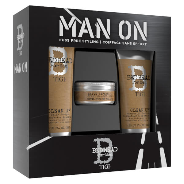 TIGI Bed Head For Men Man On Gift Set (Worth £34.85)