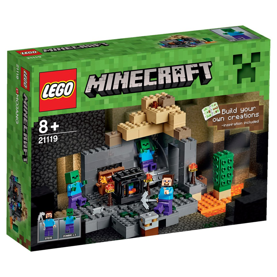 LEGO Minecraft The Dungeon 21119 Toys