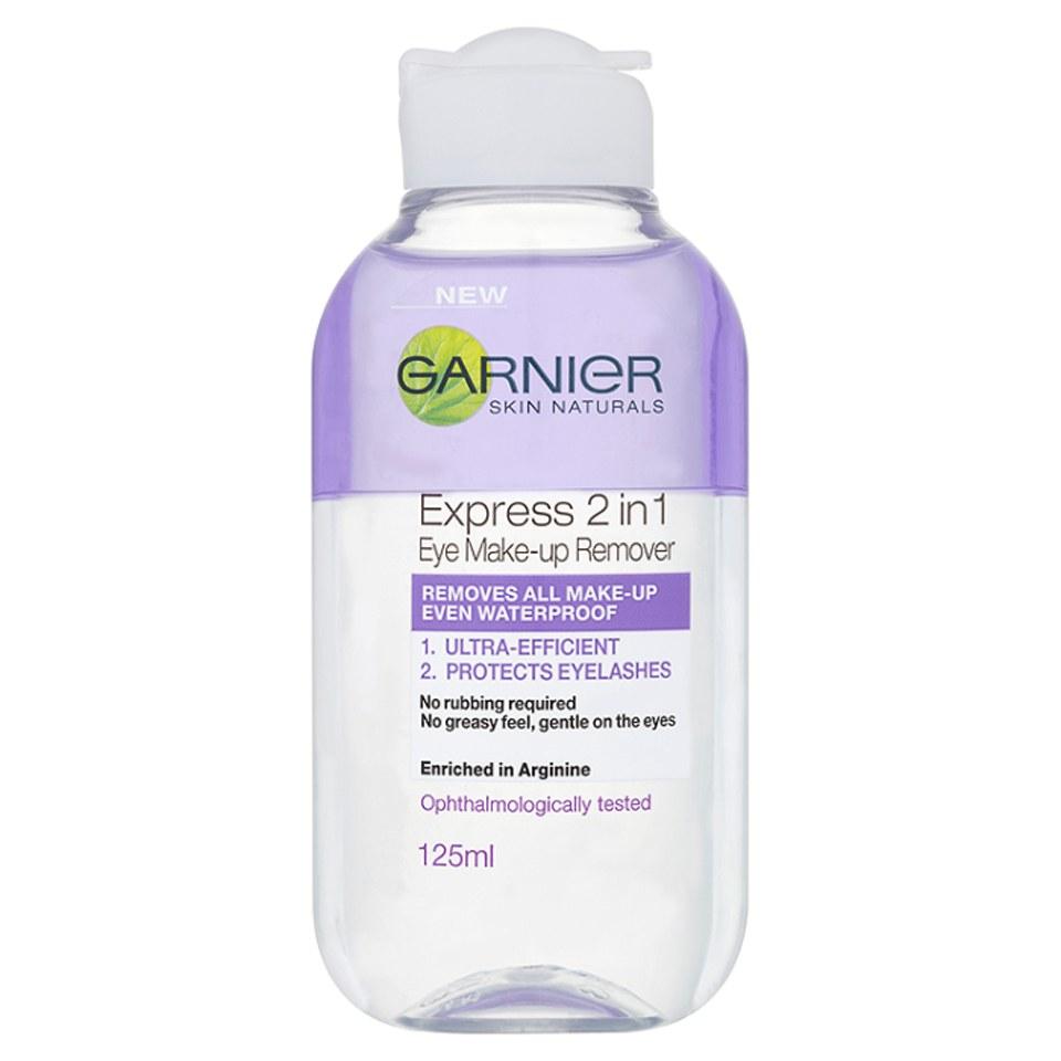Garnier Skin Naturals 2-in-1 Eye Make-Up Remover (125ml ...
