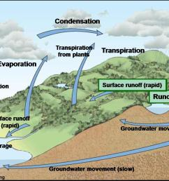 water cycle diagram percolation in [ 1457 x 775 Pixel ]