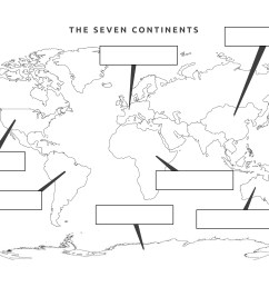 The Seven Continents [ 2480 x 3508 Pixel ]