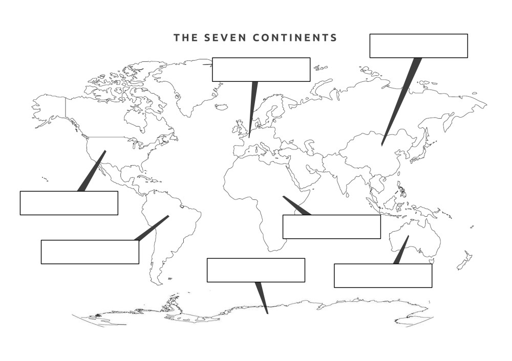 medium resolution of The Seven Continents