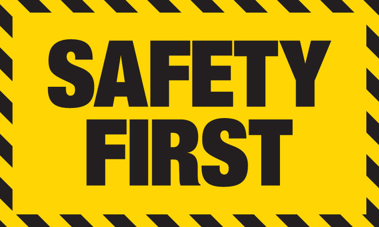 Image result for SAFETY FIRST