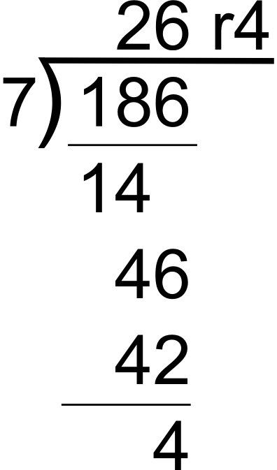 Number Names Worksheets » How To Do A Division Problem