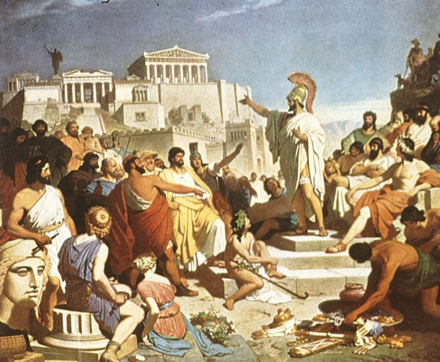 Image result for Image of greece the foundation of Democracy