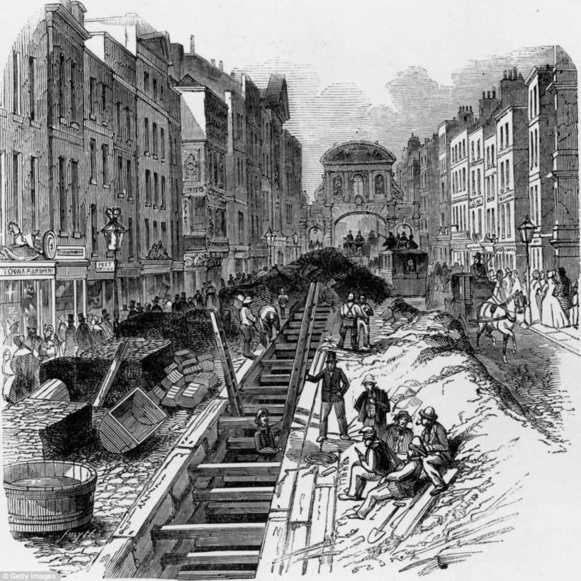 Под Лондоном текут реки: как они там оказались