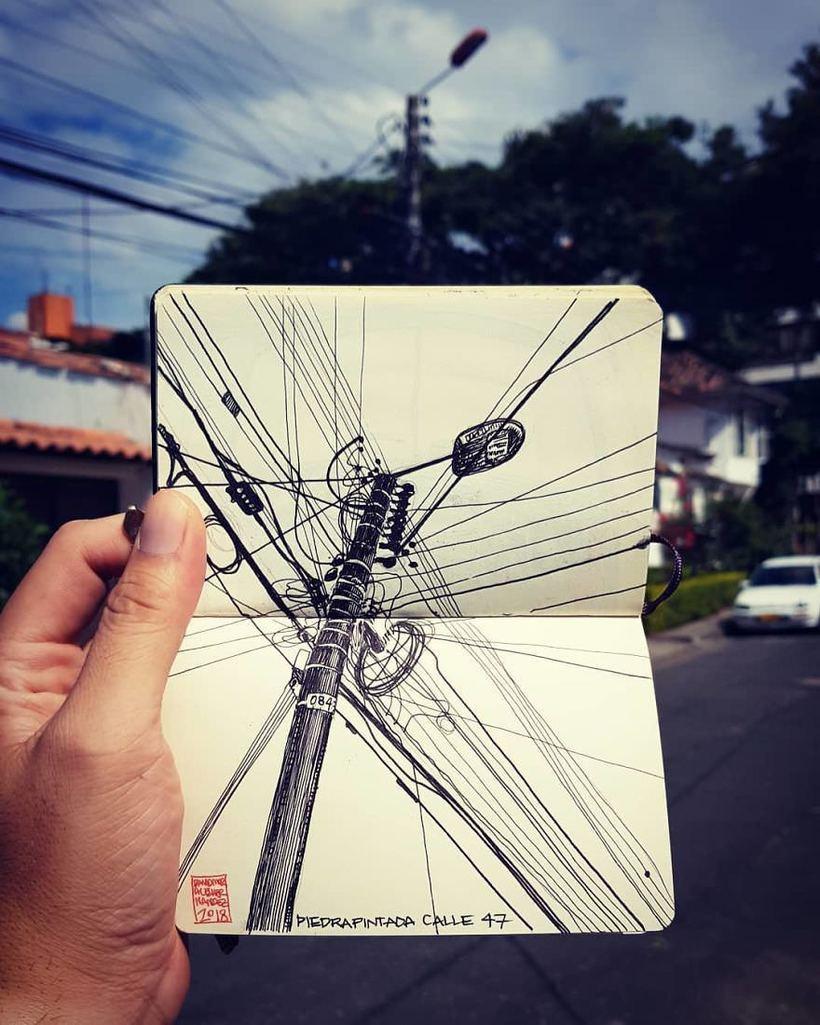 Архитектор делает потрясающие рисунки о мире вокруг себя