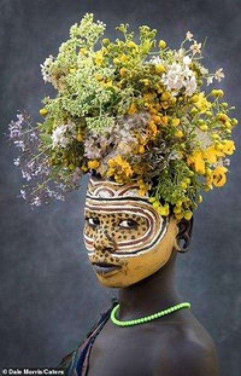 Африканское племя оми в портретах британского фотографа