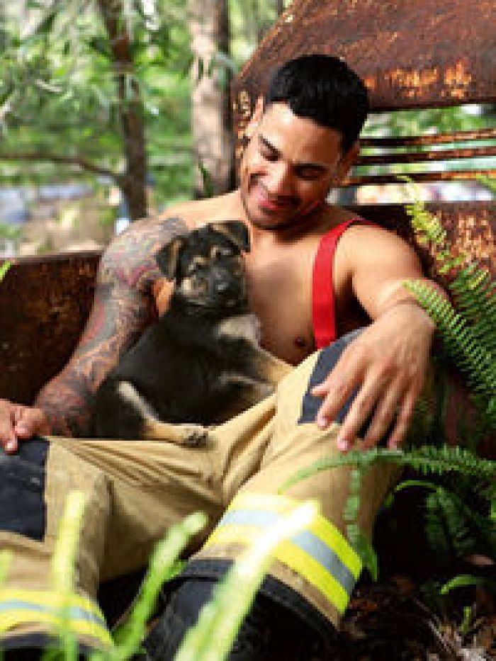 Осторожно, огонь: австралийские пожарные снялись для благотворительного календаря