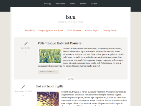 An elegant magazine theme for WordPress, with a responsive design, and support for widgets, post thumbnails, custom headers and custom backgrounds.