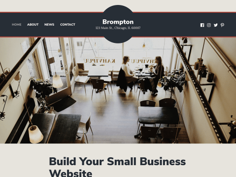 Running a business is no small task. But with the right tools and support, creating a website doesn't have to be another chore on your to-do list: enter Brompton, a simple yet powerful theme for small-business owners and entrepreneurs.