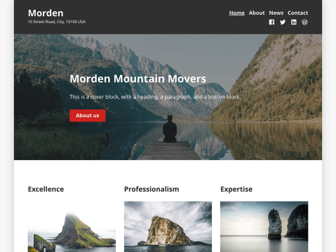 Morden is a functional and responsive multi-purpose theme that is the perfect solution for your business's online presence.