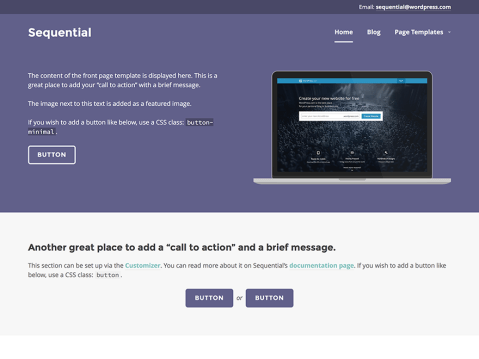 Sequential is a contemporary, clean, and multi-purpose business theme.