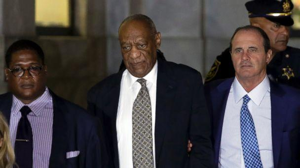 PHOTO: Bill Cosby leaves the Montgomery County Courthouse during his sexual assault trial, June 15, 2017, in Norristown, Pa. (Matt Slocum/AP Photo)